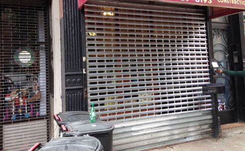 Store Front Gate Repair Brooklyn New York